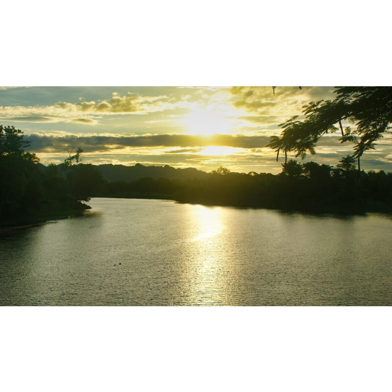 Sunset over the River Kwai - 1