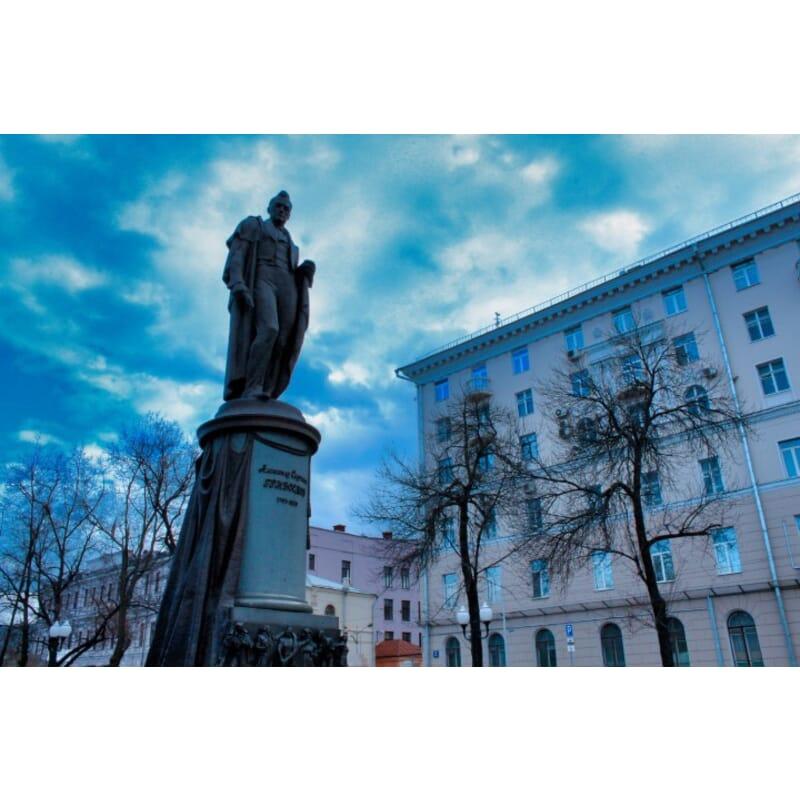 Statue in Russia - 1